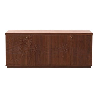 Kit Carson Electric Console in Walnut by Emily Henry