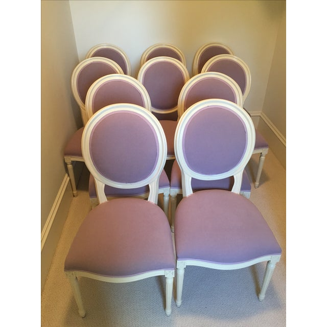 Set of Custom Dining Room Chairs - 10 - Image 7 of 8
