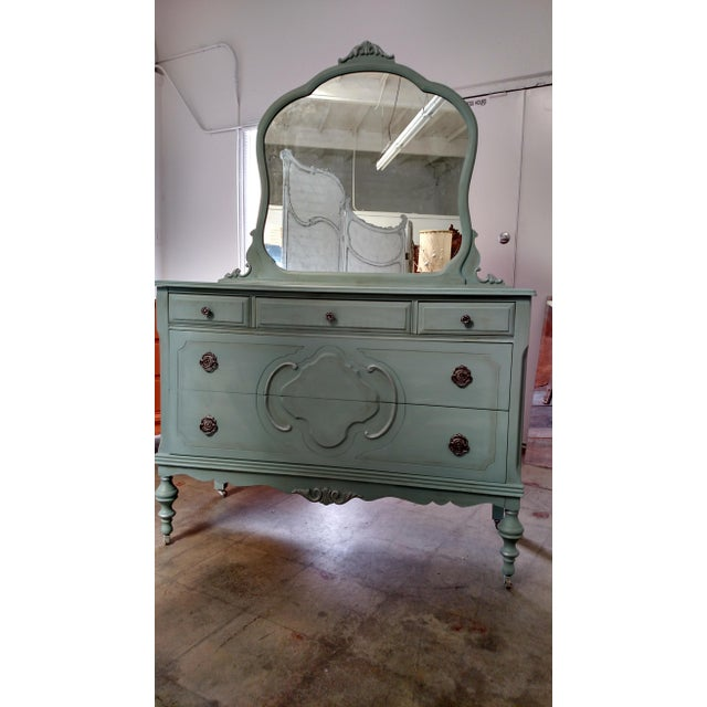 Image of Refinished Vintage French Provincial Dresser