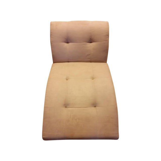 EQ3 Crush Velvet Chaise Lounge - Image 1 of 5