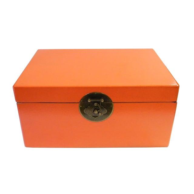 Orange Rectangular Container Box - Image 2 of 6