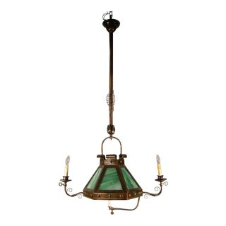 Arts & Crafts Vestibule Light Fixture (3-Light)