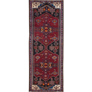 "Apadana - Vintage Persian Hamadan Rug, 3'5"" x 10'"