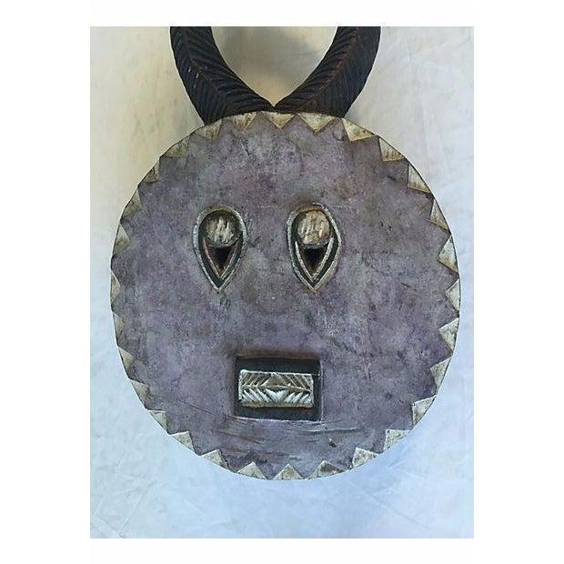 Antique African Baule Goli Horned Mask - Image 5 of 8