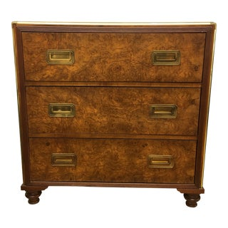 Baker Furniture 3 Drawer Campaign Chest