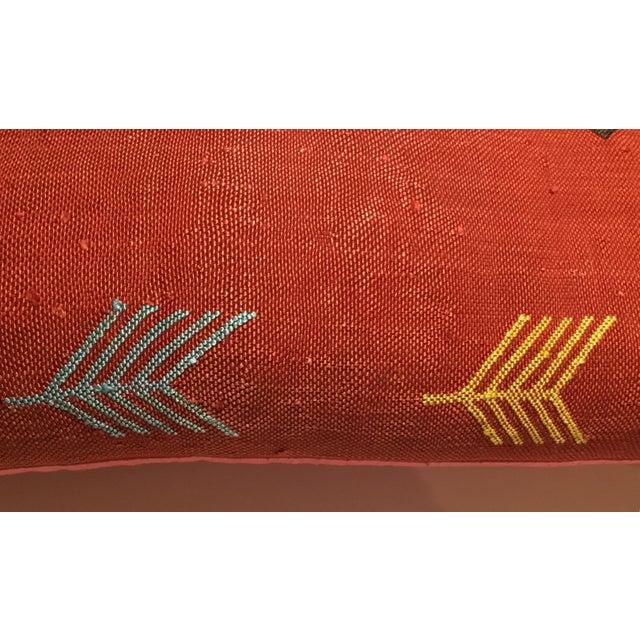 Moroccan Cactus Silk Pillow - Image 7 of 10