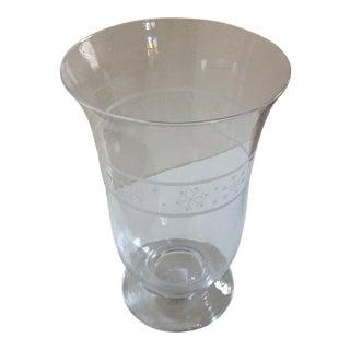 Villeroy & Boch Christmas Glass Hurricane Lamp