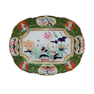 19th-C. Ironstone Meat Platter