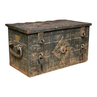 17th Century Iron Trunk