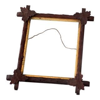 Vintage Sarreid LTD Gold Leaf Wooden Frame