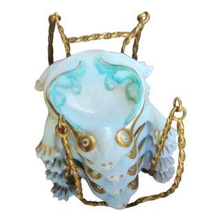 Vintage Ceramic Frog Teabag Holders - Set of 4