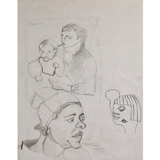 """""""Sketches After Picasso and Van Gogh"""" Drawing Study"""