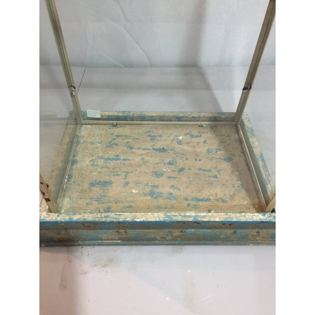 Antique Shabby Chic Display Case - Image 5 of 6
