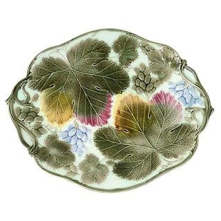 Majolica Grapes Wedgwood Wall Platter