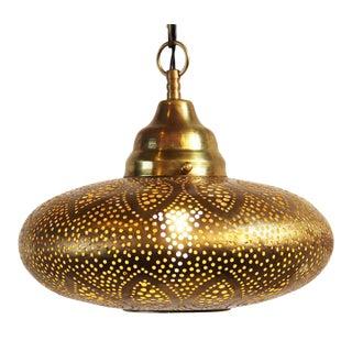 Brass UFO Petal Lantern
