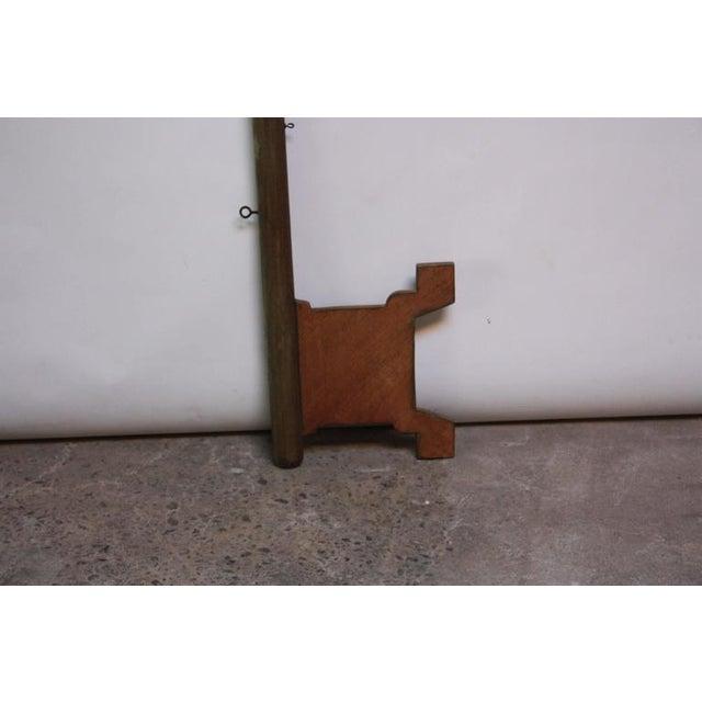 Monumental Mid-20th Century Folk Art Wooden 'Key' Trade Sign - Image 3 of 10