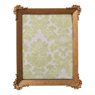 Antique French Bronze Picture Frame