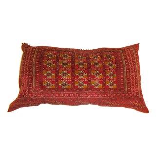 Leon Banilivi Large Torkaman Rug Fragment Pillow