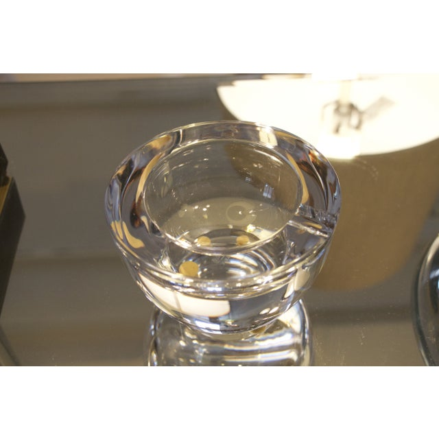 Vintage French Crystal Ashtray - Image 4 of 5