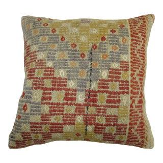 Turkish Flat-weave Rug Pillow