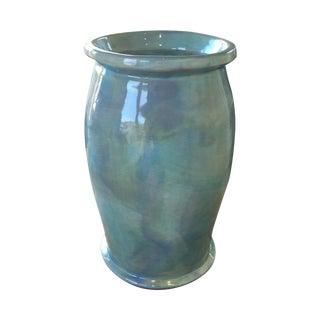 Soule Studio Melange Large Barrel Vase in Pool