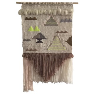 Prism Weaving, Tapestry Wall Hanging