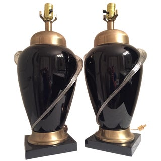 Frederick Cooper Chicago Lamps - A Pair