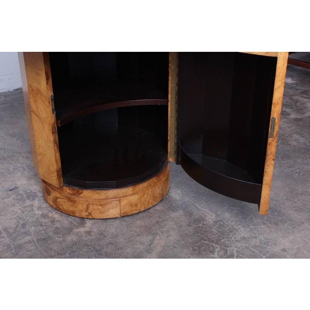 Burl Bar Cabinet / Table by Edward Wormley for Dunbar - Image 6 of 10