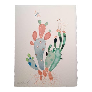 "Steve Klinkel ""Cactus Mix"" Watercolor Painting"