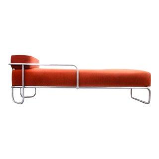 Bruno Weil Liege (B 267) Bauhaus Daybed for Ausführung Gebr. Thonet a.g. Hessen