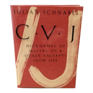 Julian Schnabel: c.v.j. Book