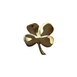 Solid Brass Four Leaf Clover Door Knocker