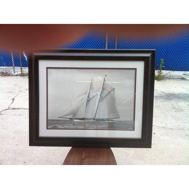 Crate & Barrel Photo Art - Meteor IV Sailing Boat - Image 3 of 3