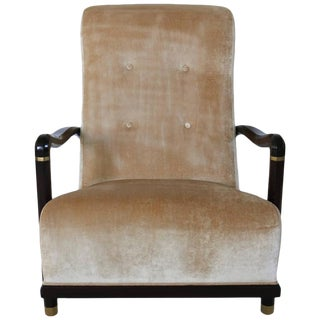 Andre Arbus Art Deco Style Armchair by William Switzer