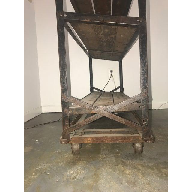 Antique Industrial Cobblers Shoe Rack Shelving Unit - Image 8 of 11