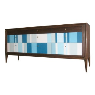 Mid-Century Modern Repurposed Mount Airy Credenza