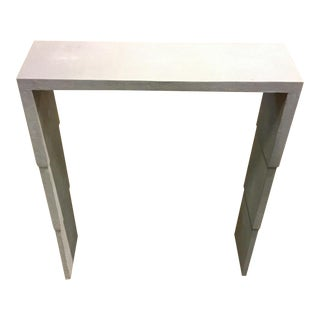 Amory Shagreen Console Table