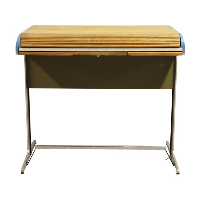 Image of George Nelson Action Office Tambour High Desk