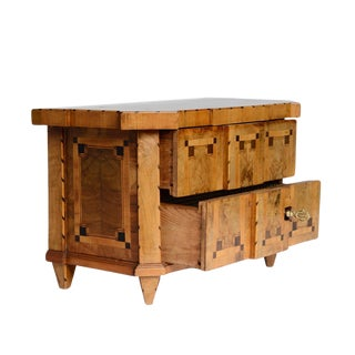 Miniature Marquetry Commode
