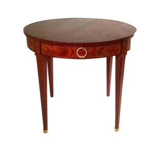Rosewood Marquetry Table