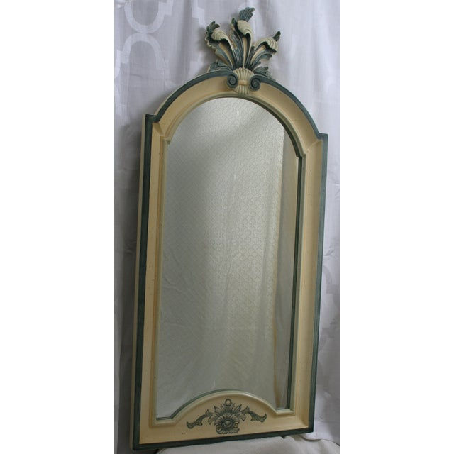 Image of Vintage Country French La Barge Wood Framed Mirror