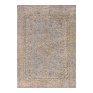 "Hand Painted Color Reform Collection Rosalyn Wool Rug - 9'1"" x 12'7"""