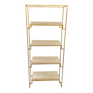 Worlds Away Contemporary Shadow Etagere