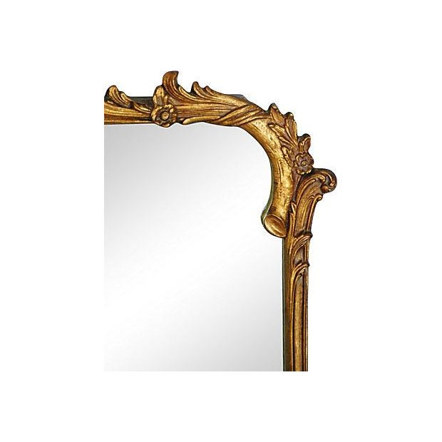 Antique French Gilt & Gesso Mirror - Image 5 of 7