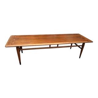Mid-Century Lane Acclaim Dovetail Coffee Table