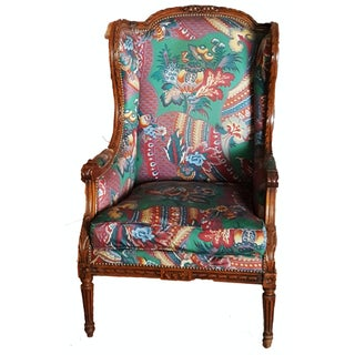"""Vintage French """"Bergere A Oreilles"""" Accent Chair"""