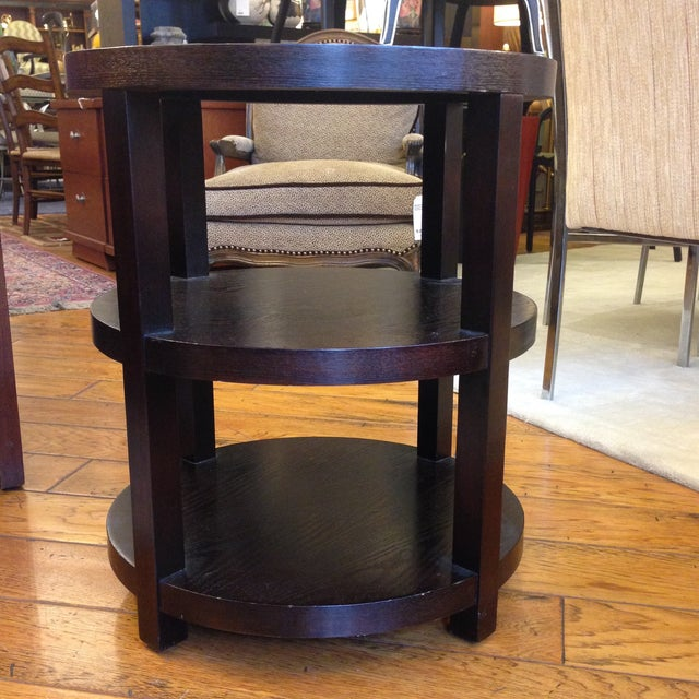 Image of Ebony Occasional Table