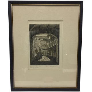 New Orleans Etching