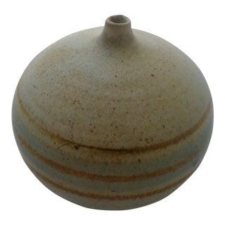 Organic Mid-Century Modern Art Pottery Vase