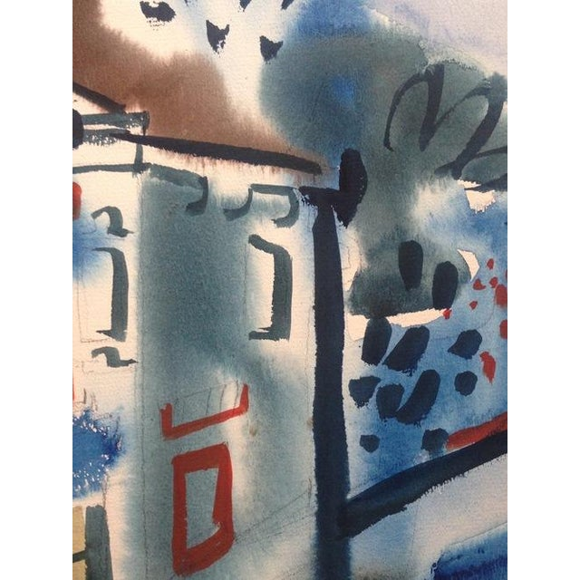 1965 Gouache Painting Victorian House - Image 5 of 6
